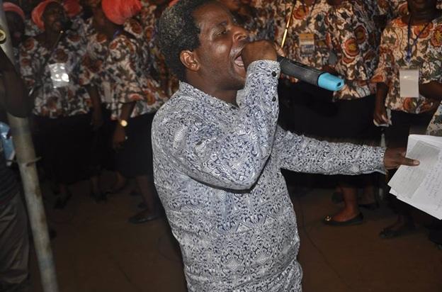 PROPHET ISEDOWO STORMS ALIMOSHO WITH PROPHETIC RAINS OF PRAYER