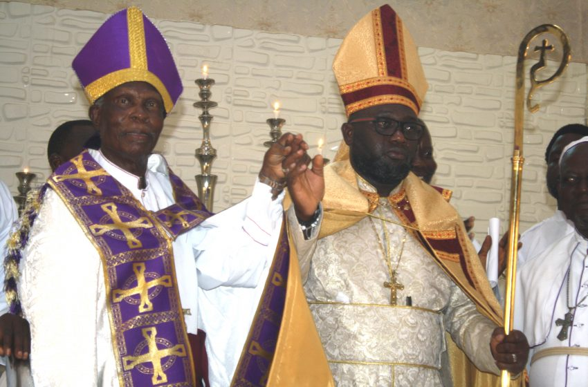 C&S Holy Mount of  Salvation Installs New Minister In Charge