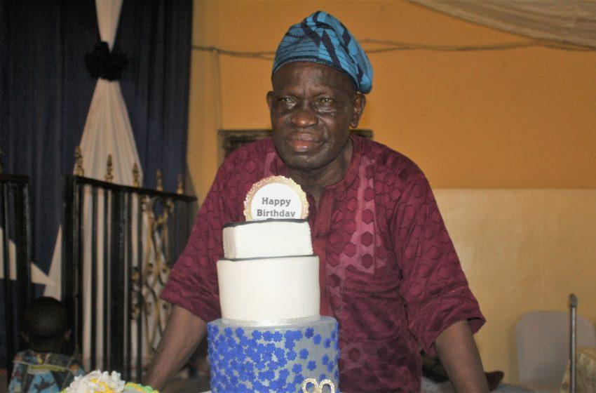 Apostle Johnson Olabode Celebrates 80th In Style